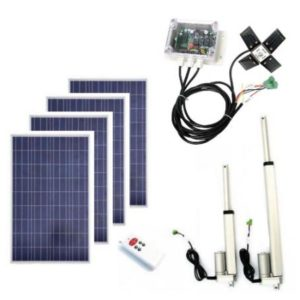 400W Complete Solar Tracking System