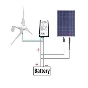 Solar Wind Hybrid 500W Kit