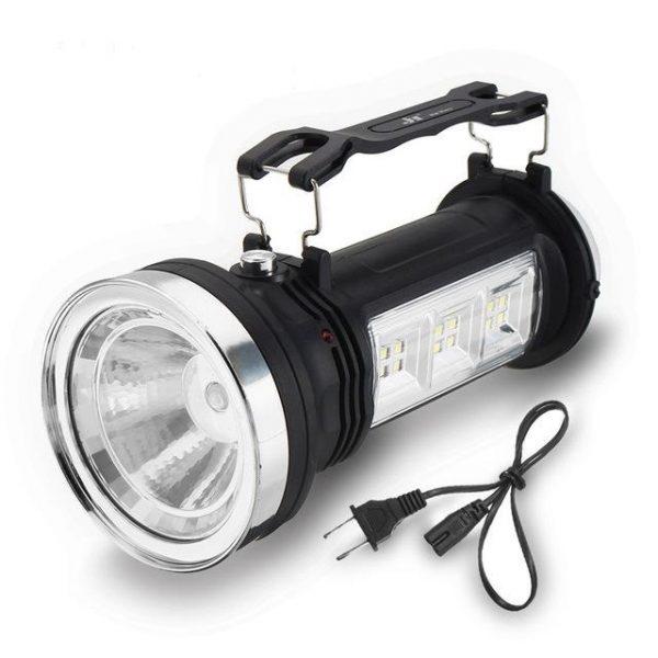Solar Multi-Bulb Flashlight
