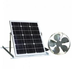 65W Solar Fan 100W Mono Panel