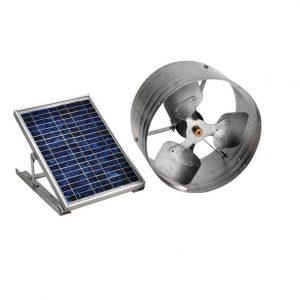 65W Solar Fan 100W Poly Panel