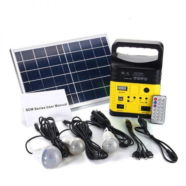 6W Solar Portable Kit