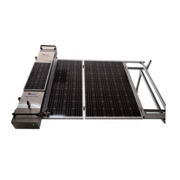 Solar Panel Cleaner Robot